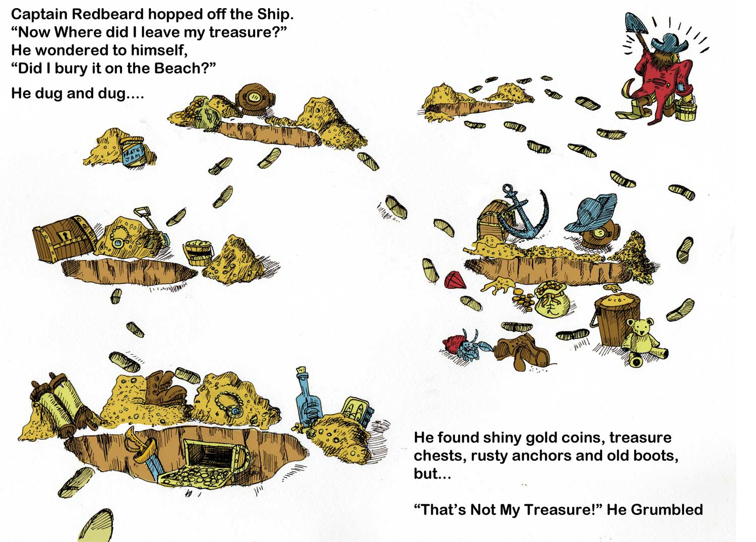 Captain Redbeard's Treasure